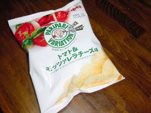 カルビーポテトチップス『トマト&モッツァレラチーズ味』