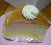 レーブドゥシェフのチーズケーキ